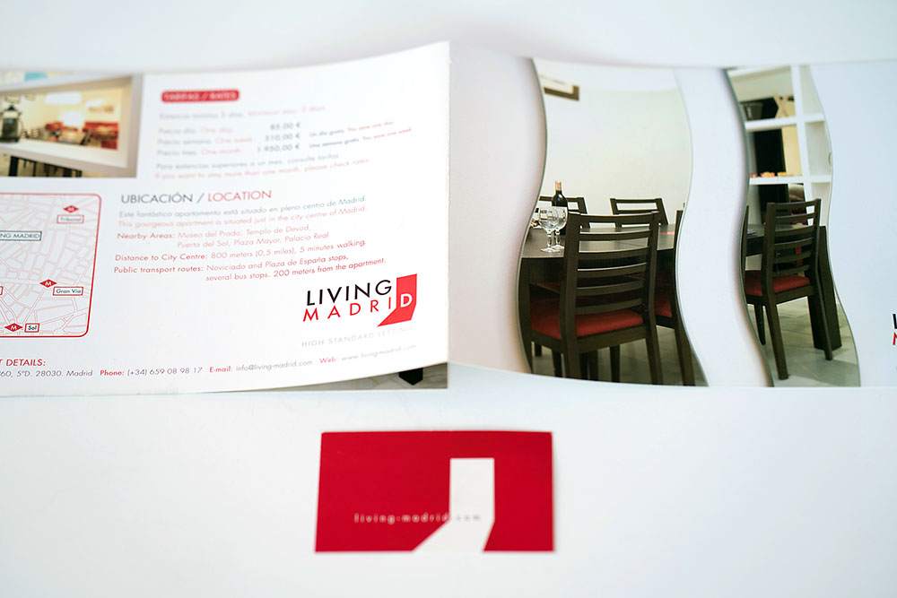 Living Madrid. Identidad Corporativa y Diseño