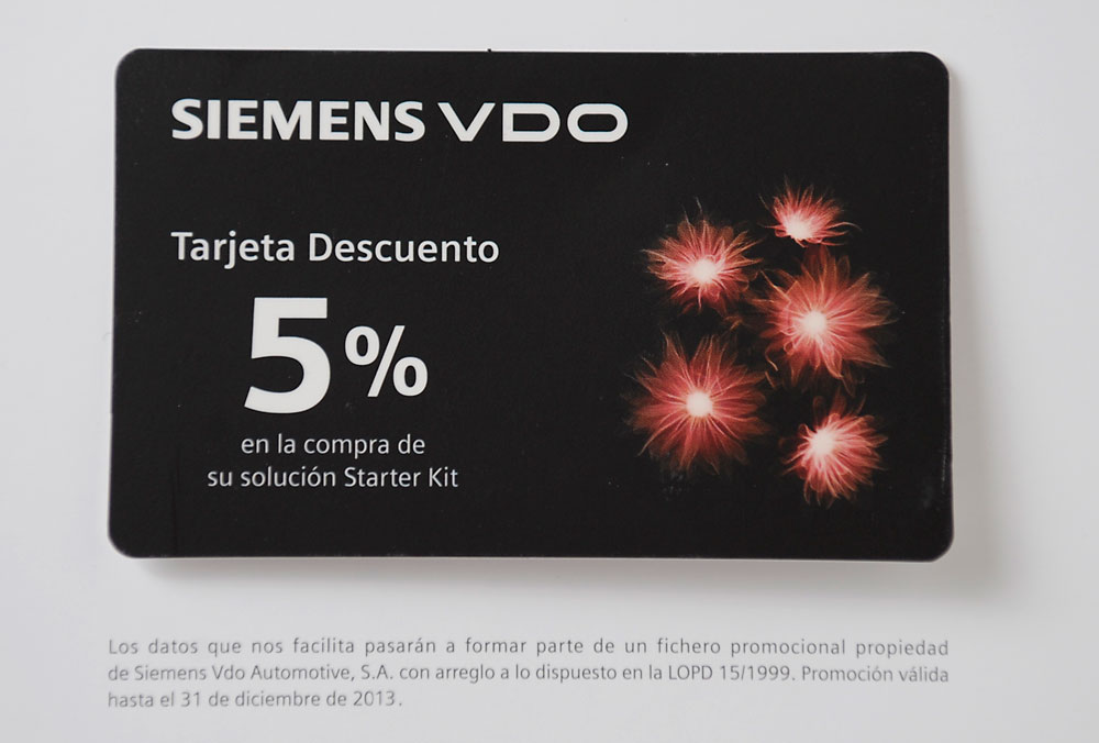 Siemens VDO. Marketing Directo