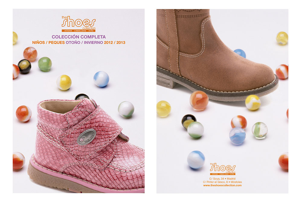 The Shoes Collection. Diseño